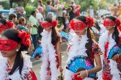 Celebración china del Año Nuevo en Tailandia Imagen de archivo libre de regalías