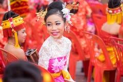 Celebración china del Año Nuevo en Tailandia Imagenes de archivo