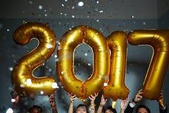 Celebración de Año Nuevo Imagen de archivo libre de regalías