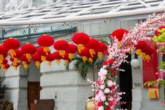 Celebración de Año Nuevo chino en Singapur Foto de archivo libre de regalías