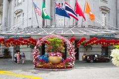 Celebración de Año Nuevo chino en Singapur Fotos de archivo