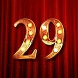 Celebración de 29 años de aniversario Fotografía de archivo