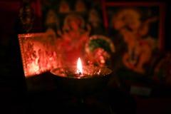 Celebración de Diwali Puja fotografía de archivo libre de regalías