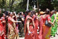 Celebración de Hindus en Kenia Fotos de archivo libres de regalías
