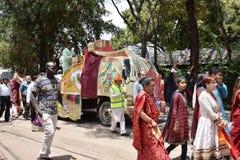 Celebración de Hindus en Kenia Imagen de archivo