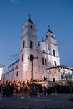 Celebración de la asunción de la Virgen Maria Fotos de archivo libres de regalías