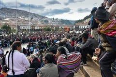Celebración de la calle en Suramérica fotos de archivo libres de regalías