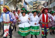 Celebración de la epifanía en Perú Foto de archivo libre de regalías