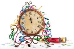 Celebración de la Feliz Año Nuevo Fotos de archivo libres de regalías