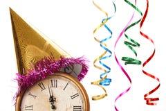 Celebración de la Feliz Año Nuevo Imagen de archivo libre de regalías
