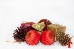 Celebración de la Feliz Navidad Imagen de archivo