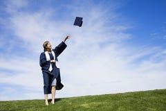 Celebración de la graduación Imagenes de archivo