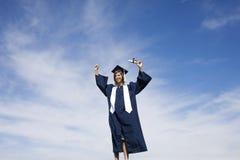 Celebración de la graduación Fotografía de archivo libre de regalías