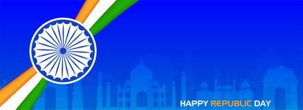 Celebración de la India del día de la república el 26 de enero libre illustration