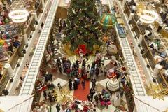 Celebración de la muchedumbre del Año Nuevo Imágenes de archivo libres de regalías