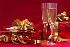 Celebración de la Navidad Foto de archivo libre de regalías