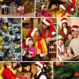 Celebración de la Navidad Fotos de archivo