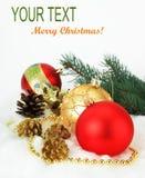 Celebración de la Navidad fotografía de archivo
