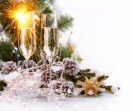 Celebración de la Navidad Imagenes de archivo