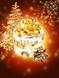 Celebración de la Navidad Ilustración del Vector