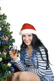 Celebración de la Navidad Imagen de archivo libre de regalías