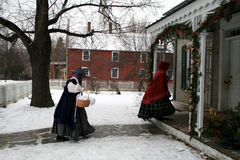 Celebración de la Navidad de la vendimia Fotografía de archivo