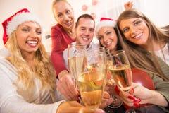 Celebración de la Navidad o del Año Nuevo Fotografía de archivo