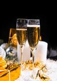 Celebración de la Navidad y del Año Nuevo Imagen de archivo libre de regalías