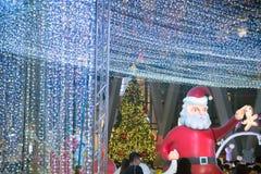 Celebración de la Navidad y del Año Nuevo en Bangkok Imagen de archivo