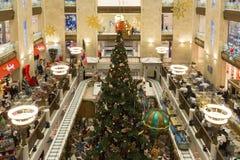 Celebración de la opinión de Año Nuevo desde arriba Fotografía de archivo libre de regalías