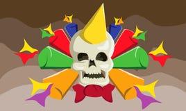 celebración de los Años Nuevos del skul libre illustration