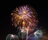 Celebración de los fuegos artificiales Imagen de archivo libre de regalías