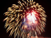 Celebración de los fuegos artificiales Fotos de archivo libres de regalías