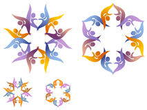 Celebración de los pares ilustración del vector