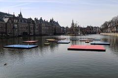 Celebración de Mondrian en La Haya, Holanda Fotografía de archivo