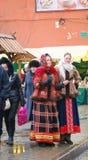 Celebración de Shrovetide en Moscú Imagenes de archivo