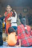 Celebración de Songkran en Camboya 2012 Fotografía de archivo libre de regalías