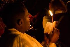 Celebración de Timkat en Etiopía fotos de archivo