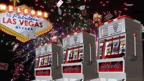 Celebración de Vegas almacen de video