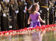 Celebración de Victory Day. Imagen de archivo libre de regalías