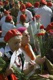 Celebración de Victory Day en Moscú Fotografía de archivo libre de regalías