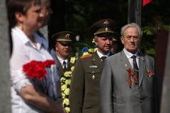 Celebración de Victory Day en Praga, República Checa Foto de archivo libre de regalías