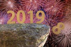 Celebración del Año Nuevo fotos de archivo