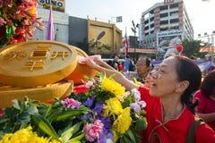 Celebración del Año Nuevo chino en Bangkok Foto de archivo libre de regalías