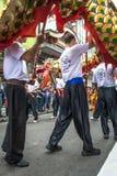 Celebración del Año Nuevo chino en el Brasil Imágenes de archivo libres de regalías