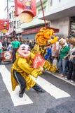Celebración del Año Nuevo chino en el Brasil Imagen de archivo