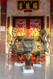 Celebración del Año Nuevo chino en el templo Saphan Hin Foto de archivo