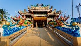 Celebración del Año Nuevo chino en el templo Saphan Hin Fotos de archivo