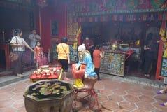 Celebración del Año Nuevo chino en la ciudad de Semarang Fotos de archivo libres de regalías