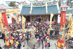 Celebración del Año Nuevo chino en la ciudad de Semarang Foto de archivo